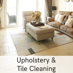 upholstery and tile cleaning
