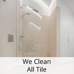 we clean all tile